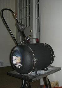 Печь для разогрева металла