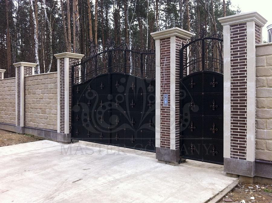 Москва и московская область ворота и калитки катетжей ворота распашные с врезаной калиткой